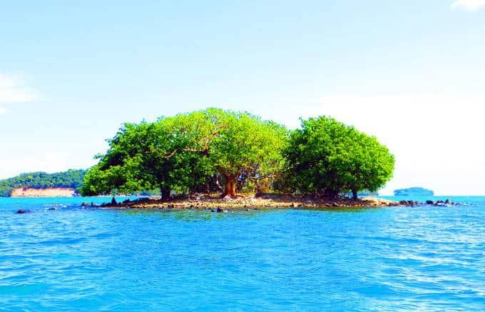 Hòn Nấm - du lịch đảo Hải Tặc