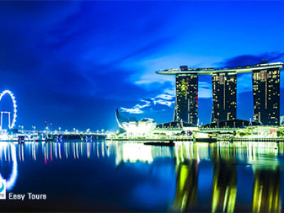 Sands SkyPark_Singapore City
