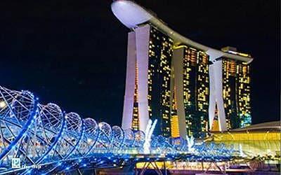 Cảnh đêm Singapore