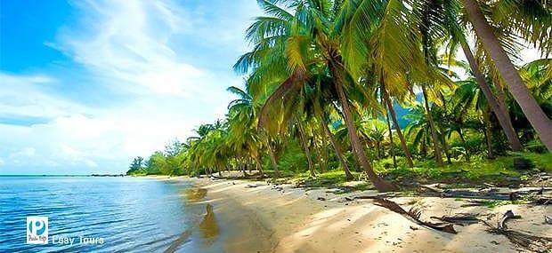 Bãi Cây Mến Hòn Lớn ( Tour Du Lịch Đảo Nam Du)