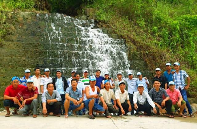 Thác nước - Du lịch Hòn Sơn