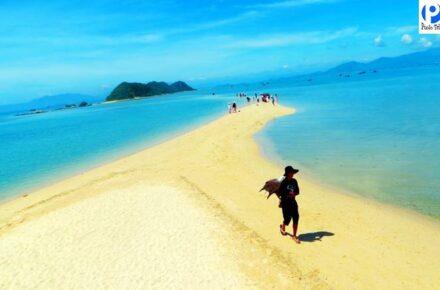 đường mòn trên biển - Tour Điệp Sơn Phú Yên
