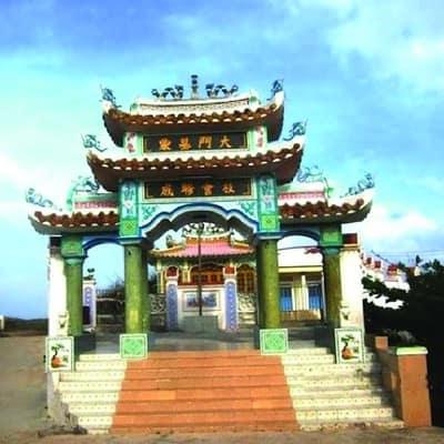 đền thờ thầy Sài Nại Phú Quý