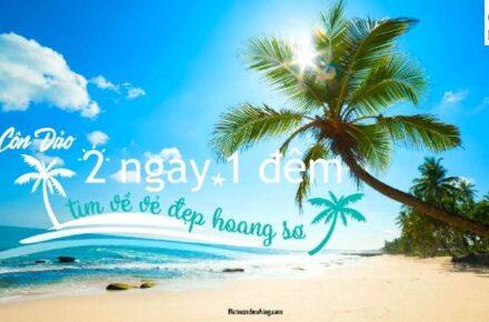 tour du lịch Côn Đảo 2n1đ